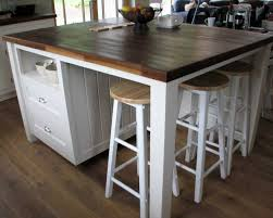 free standing kitchen island with seating...pretty close to what we want to