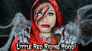 little red riding hood wolf hunter makeup tutorial beautybyjosiek
