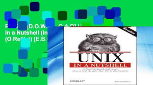 The Design Of The Unix Operating System Ebook Free Download Unix In A Nutshell Ebook Free Download