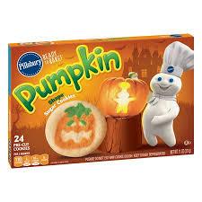 pillsbury sugar cookies. Delighful Sugar Pillsbury Ready To Bake Pumpkin Shape Sugar Cookies To Walmart