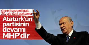 MHP'li Çetin: Atatürk'ün partisinin devamı MHP'dir
