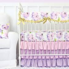 Floral Girls Crib Bedding