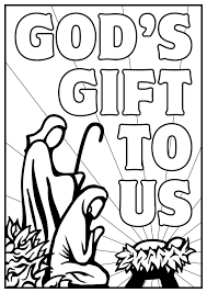 Christmas Nativity Coloring Pages For Adults Intended Enormous Sheet
