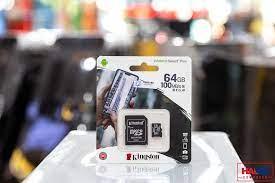 Thẻ nhớ Kingston 64GB Micro SD Class 10