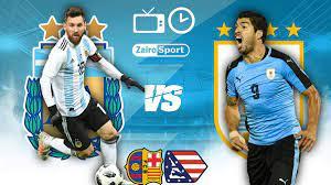 مباراة الأرجنتين وأوروجواي في كوبا أمريكا 2021، موعد المباراة و القنوات  الناقلة •