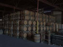 oak barrels stacked top. How Many Sizes Of Wine Barrels Are There? Oak Stacked Top