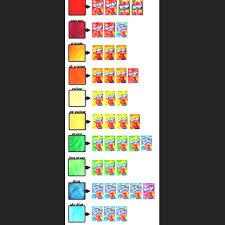 Kool Aid Hair Dye Chart For Dark Hair Kool Aid Hair Dye
