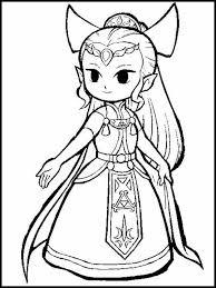 Zelda Kleurplaat 11