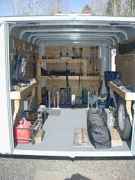 Cabinets For Cargo Trailers Carpentry Construction Trailer Pictures Google Search Trailer