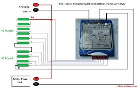 wiring diagram for battery pack wiring database wiring diy how to make a battery pack from rc li po batteries for ebike