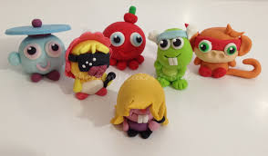 Moshi Monster Cupcakes By On Cake