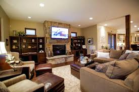 tv fireplace ideas leather ottoman coffee table with exclusive stone fireplace and modern for traditional living