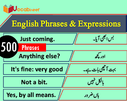 short english phrases expressions in