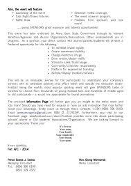 Sponsorship Request Cover Letter Printable Sponsorship Letter ...