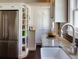 Small Picture Small Kitchen Storage Ideas Small Apartment Cream Countertop Black