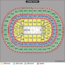 United Center Seating Chart Blackhawks Bulls Tickpick