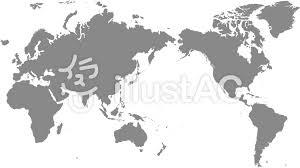 世界地図 モノクロイラスト No 922499無料イラストならイラストac