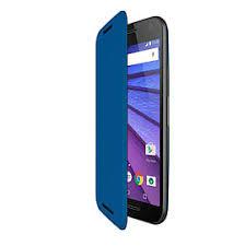 motorola flip phones blue. slim flip case for motorola moto g3 - deep blue mobile phones i
