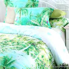 palm tree duvet covers palm tree comforter sets queen blue green turquoise bedding sets queen king palm tree