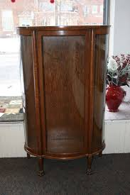 curved glass curio cabinet. Simple Cabinet Bent Glass Cabinet Throughout Curved Curio U