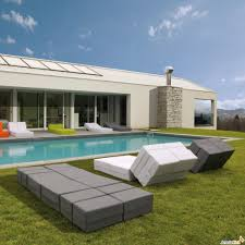 modern outdoor chaise lounge chairs. contemporary outdoor chaise lounge - in grey and white modern chairs d