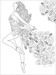 Free Printable Ballerina Coloring Pages At Getdrawings Com