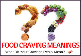 What Do Food Cravings Mean Food Craving Chart