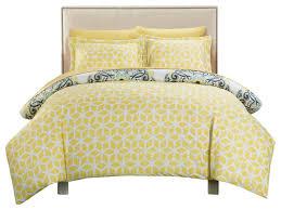 ibiza majorca medallion reversible 2 piece duvet cover set twin yellow duvet covers