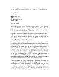 cover letter for research assistant cover letter for research assistant position
