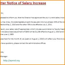 Salary Letters From Employer Request For Salary Increment Letter Format Salary Increase Letter To