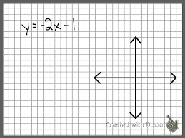 graphing linear equation with mr swaner