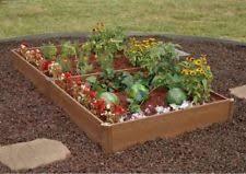 box garden. Greenland Gardener Bed Frame Border Raised Planter Box Garden Kit No Tools Need