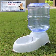 large automatic pet dog cat water feeder bowl bottle dispenser plastic 4 liters automatic water bowl for cats t52