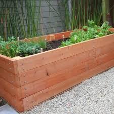 Decorative Planter Boxes Wood Planter Box Ideas Design Decoration 98