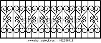 Ornate Wrought Iron Fence 30jpg Ornate Wrought Iron Fence Nongzico