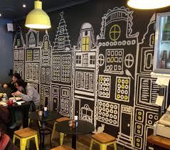 stylist inspiration cafe wall art decor kitchen stickers arte street racer cafepress espresso bistro bertrand