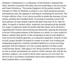 utilitarianism is more useful than kantian ethics when dealing the table below gives you a structural overview for q2