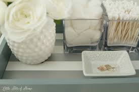 Decorative Bathroom Tray Bathroom Countertop Tray 31