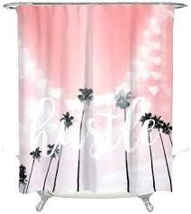 palm tree shower curtain palm tree shower curtain bathrooms gal hustle trees rings palm tree shower
