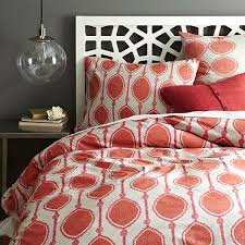 view in gallery ikat bead print duvet cover