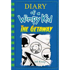 Light Blue Diary Of A Wimpy Kid Book Buy Diary Of A Wimpy Kid The Getaway Book 12 Online