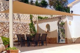 square outdoor patio sun shade sail canopy ideas