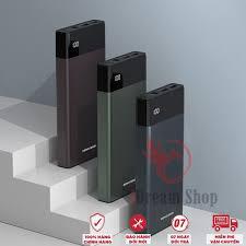 Sạc Dự Phòng REMAX 20000mAh Cục Pin Mini Siêu Nhỏ Gọn Chính Hãng - Lõi  Lithium Cho Iphone Xiaomi Samsung giảm chỉ còn 488,000 đ