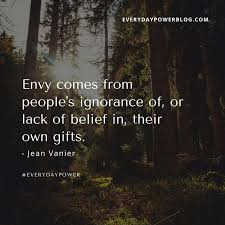 Envy Quotes Impressive 48 Jealousy Quotes About Dealing With Envy Everyday Power