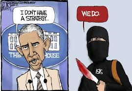 Image result for obama and isis cartoon