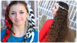 bandana curls no heat curl hairstyles
