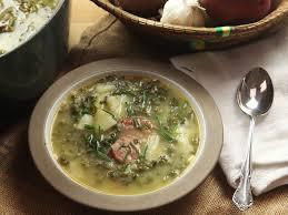 caldo verde portuguese potato and kale soup with sausage recipe serious eats