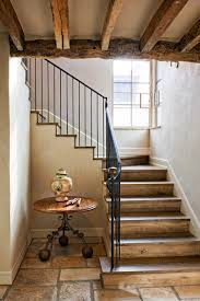 Oz Architects rustic-staircase