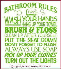 buy wall decor plus more bathroom rules subway art wall sticker vinyl decal 23x20 lime green lime green in cheap price on m alibaba  on lime green bathroom wall decor with buy wall decor plus more bathroom rules subway art wall sticker