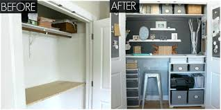 office and storage space. Small Desk Storage Fabulous Ideas Office Organizing Closet Makeover And Space